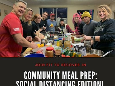 Community Meal Prep: Social Distancing Edition